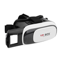 Wholesale 10 Pieces 1 Lot 3D Google Cardboard VR Glasses Virtual Reality Vision Movie Helmet For