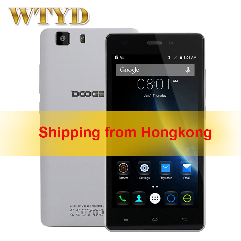 Original DOOGEE X5S 5.0 inch HD Screen Android 5.1 Smartphone MT6735 64Bit Quad Core 1.0GHz RAM 1GB+ROM 8GB LTE Network 4G(China (Mainland))