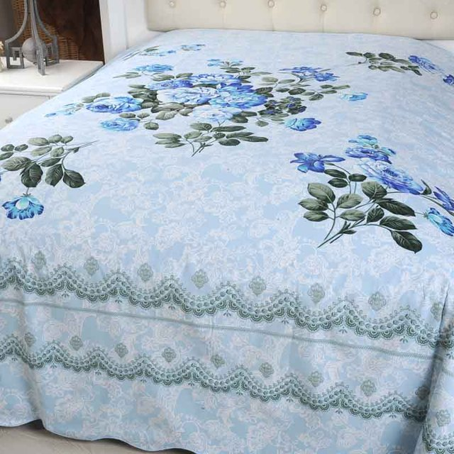 Long bedrug duvet cover old fashioned 100% mercerizing cotton print coverlet chinese style vintage