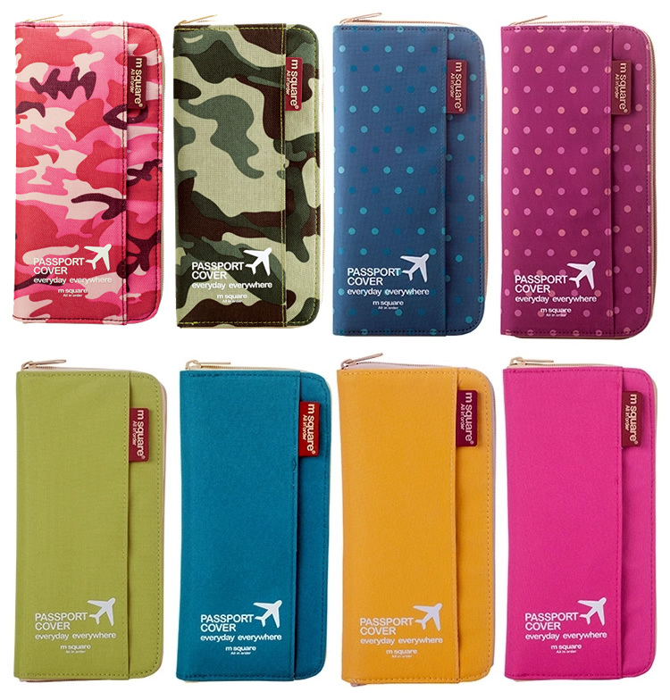 Travel passport package Good quality Solid Ticket passport holder Wallet Card and ID Holders multifunction Travel Accessories(China (Mainland))