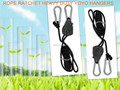 200pack 1 8 Rope Ratchet Grow Light Reflector Hangers free shipping