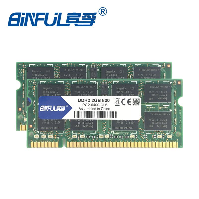 Binful Original DDR2 2gb 800mhz PC2-6400S Memory ram memoria for notebook laptop computer sodimm Lifetime Warranty(China (Mainland))