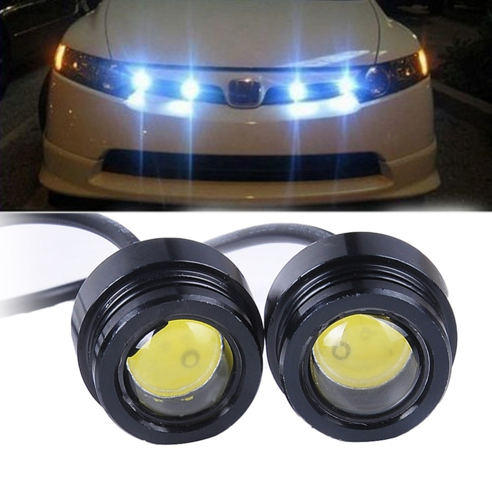 2x super bright car led fog reversen eagle eye white light daytime. Black Bedroom Furniture Sets. Home Design Ideas