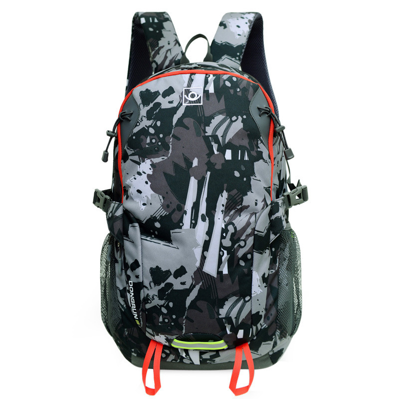 2015 Hot men and women printing leaves students backpacks rucksack fashion canvas bags retro casual school