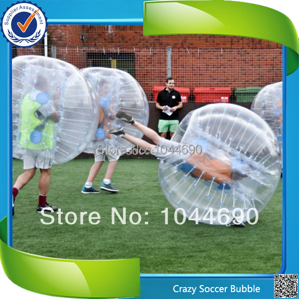 New, 1.00mm TPU Top quality inflatable bumper ball for football, adult bumper ball(China (Mainland))