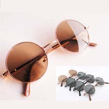 Óculos de sol verde, azul, dourado, vermelho, marrom, preto, branco, redondo circular moda vintage , óculos de sol feminino e masculino marca Designer