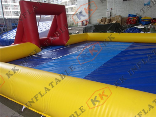 New Cheap inflatable game human football for sale inflatable soccer arena(China (Mainland))