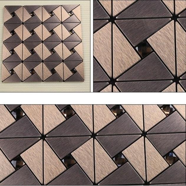 Гаджет  wholesale !! Europe adhesive Mosaic wallpaper wallpaper for kitchen bathroom toilet+ DIY metal mosaics tiles for living room None Строительство и Недвижимость