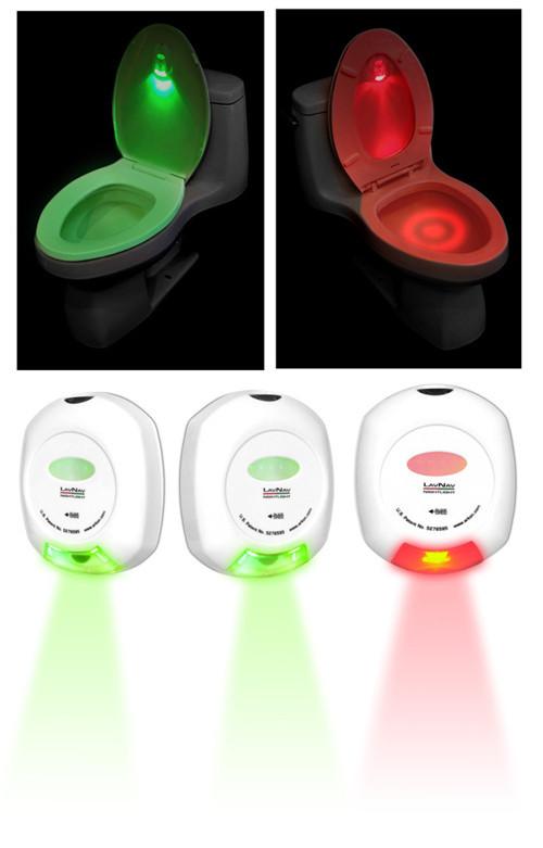 Buy Led Sensor Motion Activated Toilet Light Bathroom Flush Toilet Lamp Battery