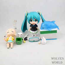 """Buy Cute #339 Nendoroid 4"""" Hatsune Miku PVC Action Figure Collection Model Toy New for $10.94 in AliExpress store"""