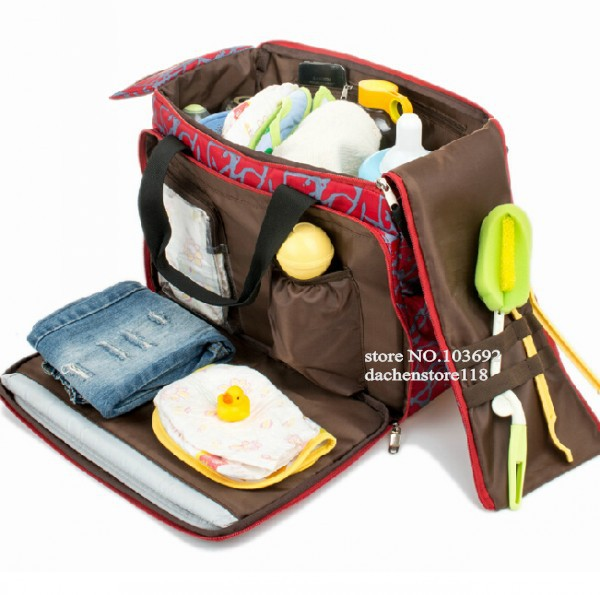 Big Capacity Multifunction Baby Diaper Bags Nappies Mummy Maternity Handbag Bag For Newborns Bolsa Maternidade Baby Bag(China (Mainland))