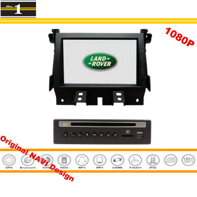 For Land Rover Discovery 4 / LR4 - Car DVD Player & GPS NAVI Navigation System + Radio HD Touch Screen TV Bluetooth Multimedia(China (Mainland))