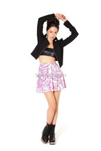 Buy Fashion Designer 2014 Summer Skirts Womens Watermelon Skater Skirt High Waist Skirt Fashion Mini Skirts Womens for $8.99 in AliExpress store