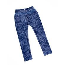 Cowboy Style Digital Printing Kids Pants Baby Jeans Pattern Leggings For Boy Girl Unisex 5 6