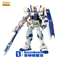 Genuine BANDAI MODEL 1/100 SCALE Gundam models #120466 MG RX-78-4 Gundam G40 plastic model kit
