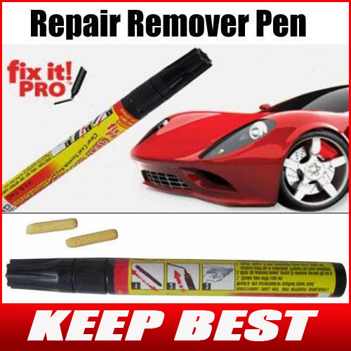 Free Shipping Fix It Pro Clear Car Scratch Repair Remover Pen Simoniz clear applicator