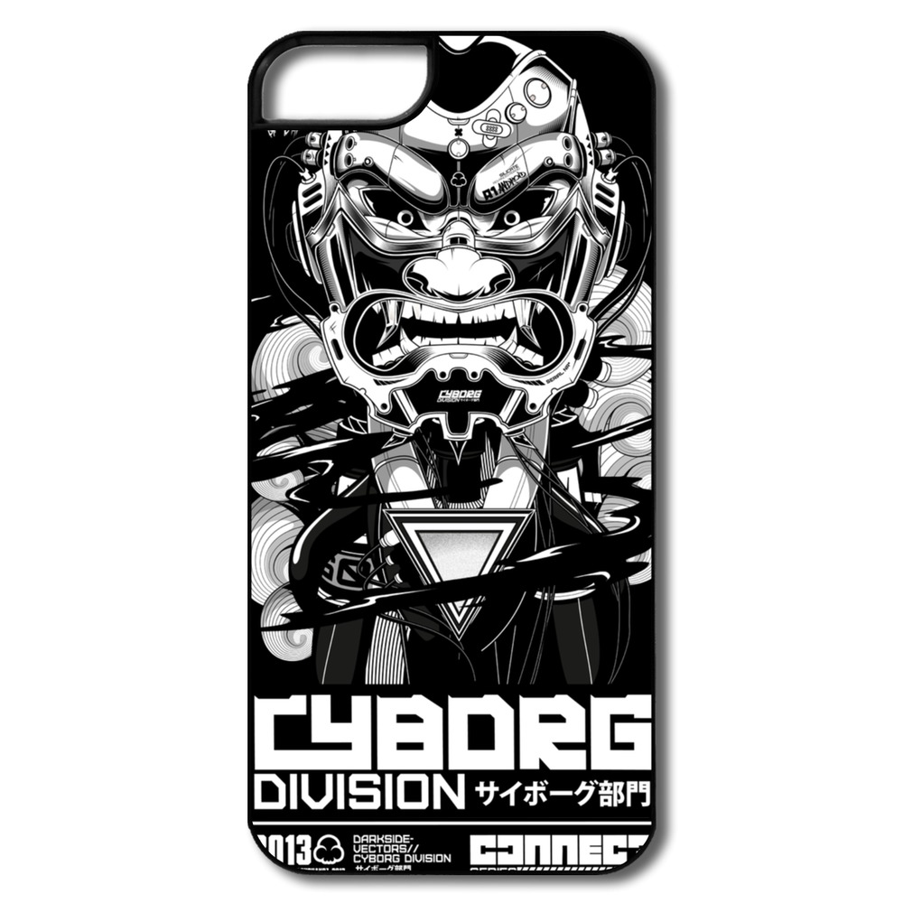 Fashion Style Plastic Cover Cyborg Division Personalized For Iphone Case 5s Accept Your Own Photo(China (Mainland))