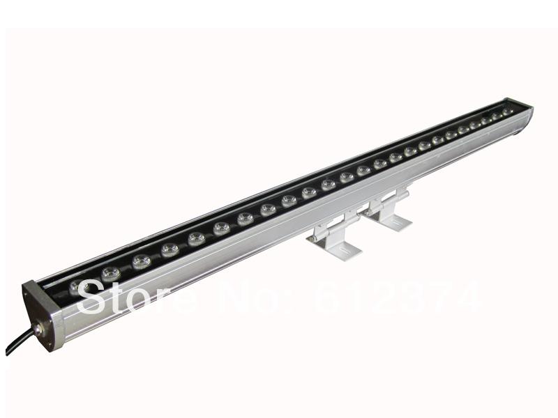 10pcs Lot Free Shipping 24W 1m LED Wall Washer Wash Light Linear Bar Waterpro