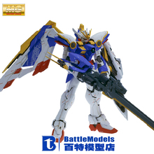 Genuine BANDAI MODEL 1/100 SCALE Gundam models #123714 MG Wing Gundam Ver.KA plastic model kit