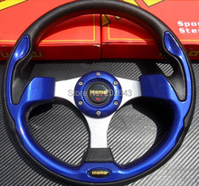 Buy GV-ST008 Blue universal car steering wheel racing13''320mm pvc leather steering wheel car styling car-styling car-covers for $20.68 in AliExpress store