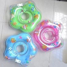 New Infant Baby Lap Swimming Baby Neck Float Rubber Ring Inflatable Swimming Circle Neck Swimtrainer Infant Swim Accessories(China (Mainland))