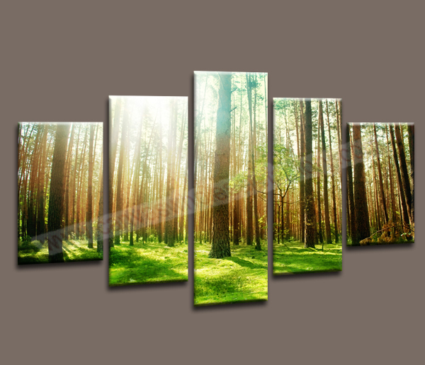 Картина JS--forest painting 5 JS-PC763--landscape