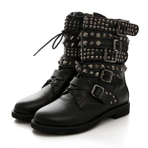 High Quality Lacing Combat Boots Promotion-Shop for High Quality ...