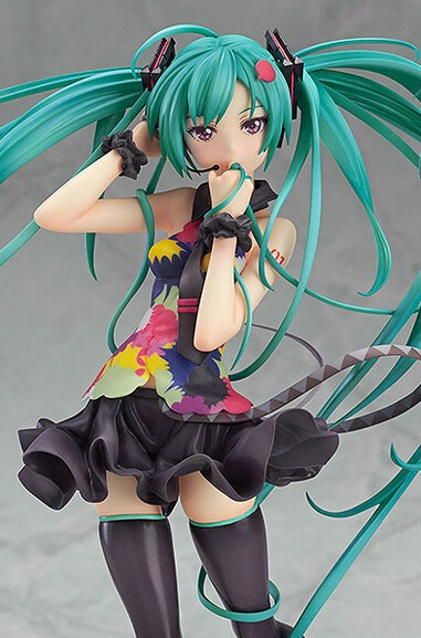 Wholesale 5pcs Japan Anime Tell your world style Hatsune Miku action pvc figure toy tall 20cm in box via EMS.<br><br>Aliexpress