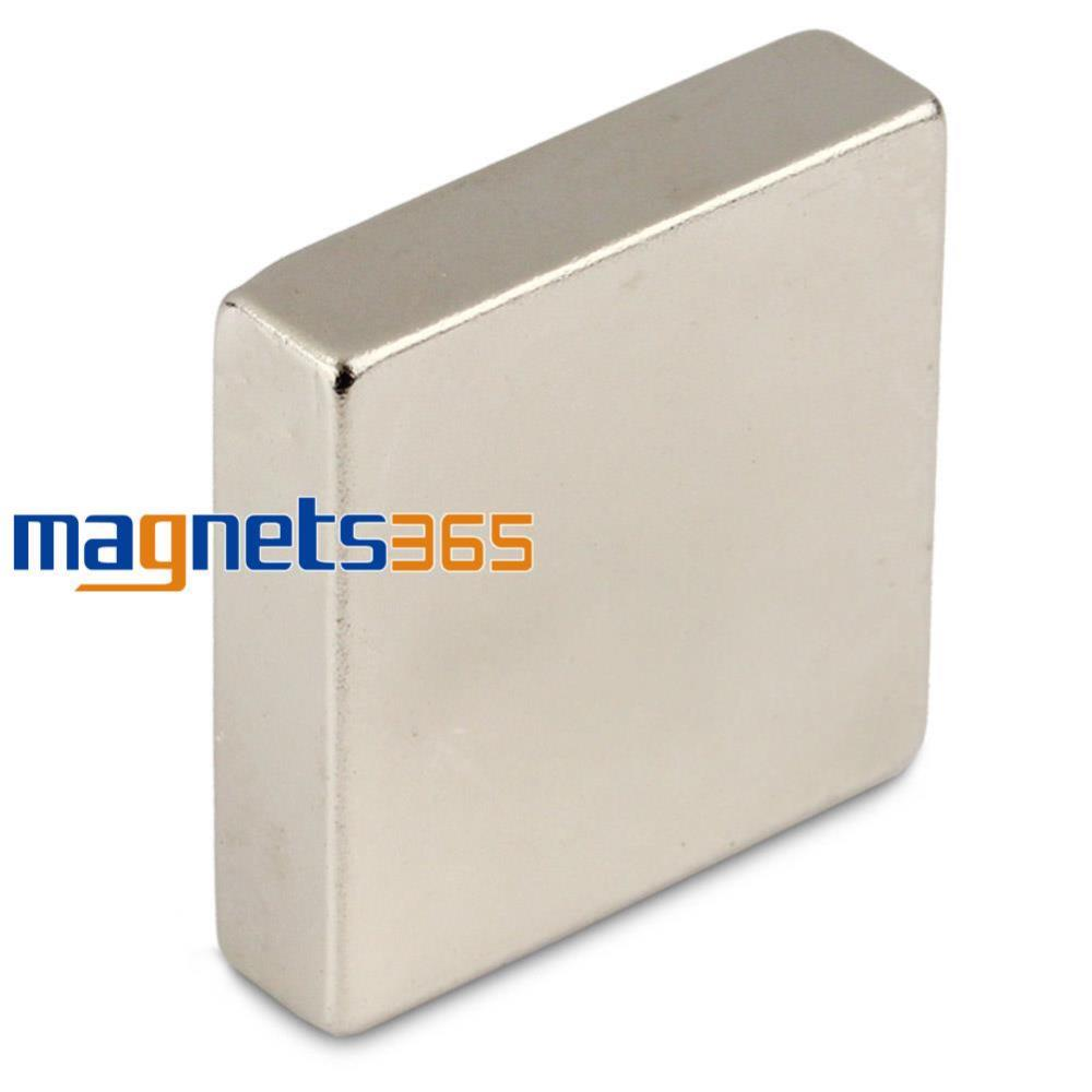 Гаджет  1 Big N50 Grade Strong Block Cuboid Magnet 40 x 40 x 10 mm Rare Earth Neodymium None Строительство и Недвижимость