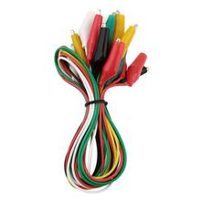 1set 10pcs High Quality Test Leads Alligator Double-ended Crocodile Roach Clip Jumper Wire(China (Mainland))