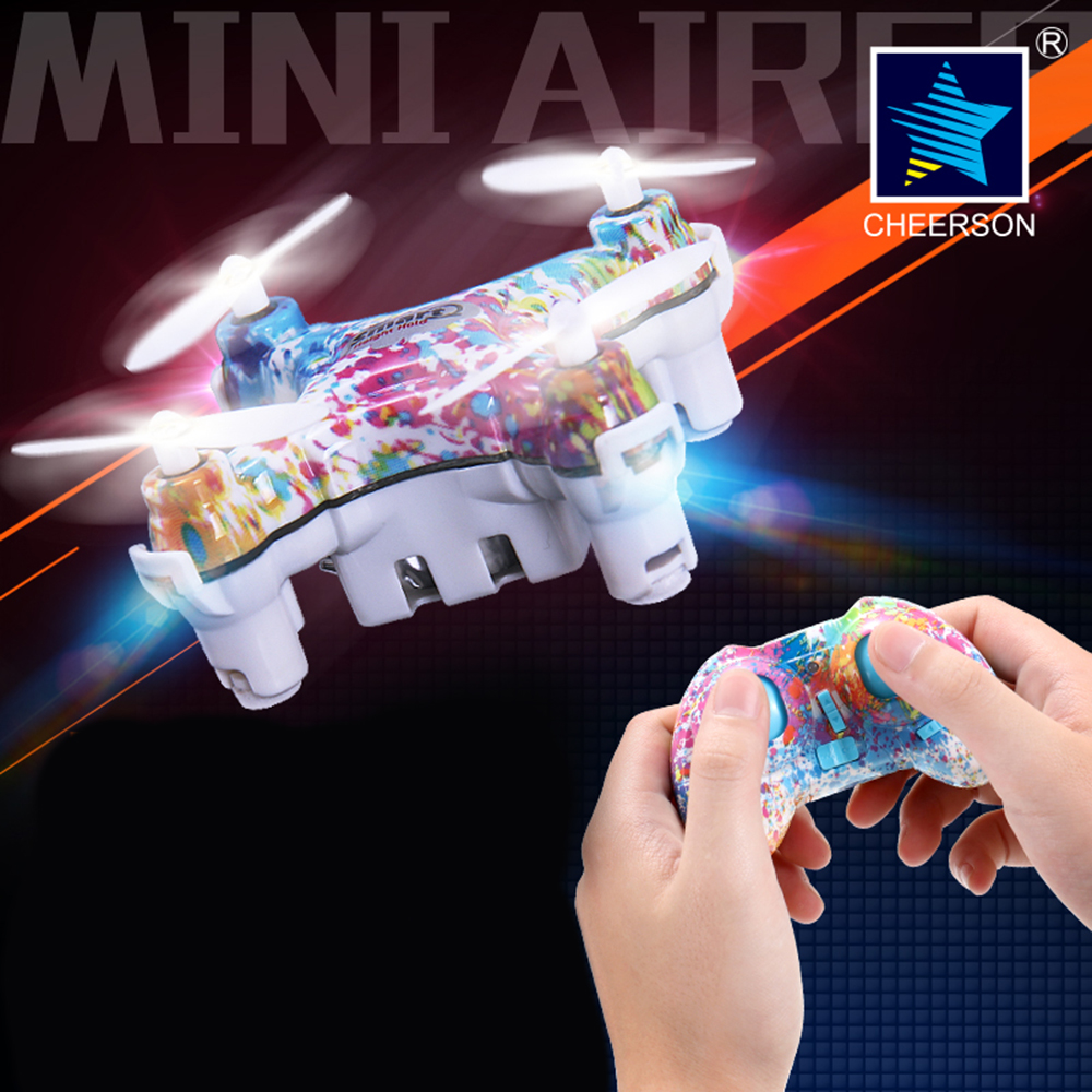 Cheerson CX10D CX-10D Mini Drone 2.4GHz 4CH 6-axis Gyro Micro RC Helicopter Quadcopter RTF Cheerson Upgrade Toys for Children(China (Mainland))