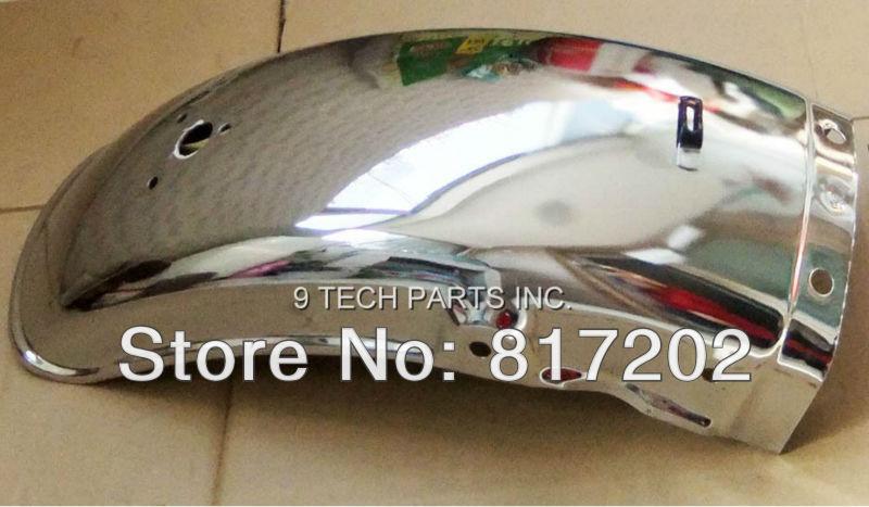 NEW FREE SHIPPING Suzuki GN250 GN 250 Rear Chrome Fender / Mudguard