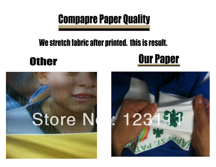 Big sale Dark color Inkjet Heat Transfer Paper 50sheets A4,For house-hold iron and Heat Press Machine,for inkjet printer(China (Mainland))