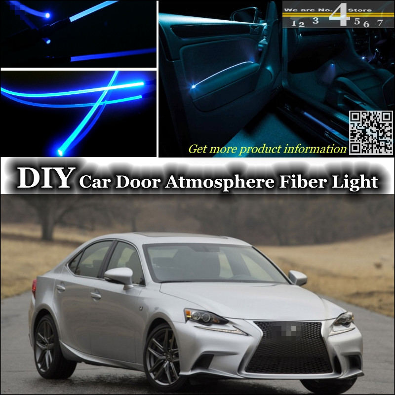 interior Ambient Light Tuning Atmosphere Fiber Optic Band Lights For Lexus IS IS200 IS250 IS300 IS350 For TOYOTA Altezza Door<br><br>Aliexpress