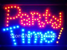 led140-r Party Time Bar Beer Led Neon Sign WhiteBoard(China (Mainland))