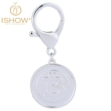 Buy Hot selling Bitcoin keychain lovely key chain women man car key chain gift jewelry High key chains llaveros mujer for $2.25 in AliExpress store