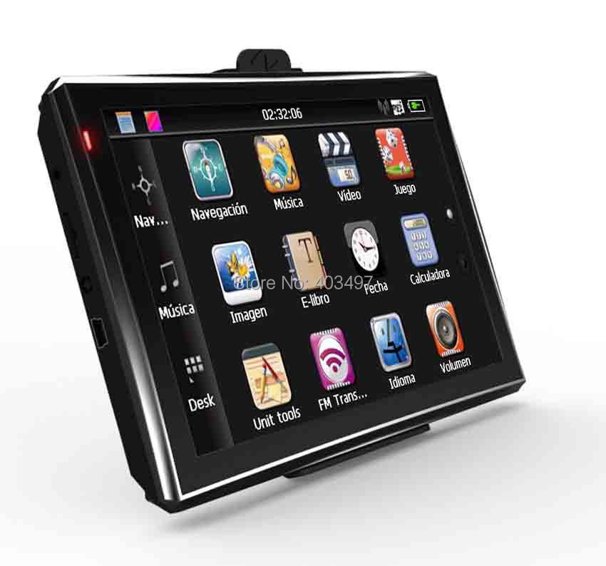 5 inch Car GPS Navigator without Bluetooth&AV IN 4GB load 3D Map RAM128M(China (Mainland))