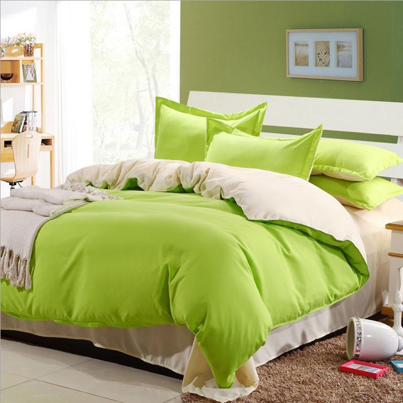 2016 Newest Solid Color Bedding Set Fashion Bed Sheet