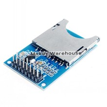 SD Slot Socket SD Reader Module SD Card Module for Camera/MP3/MP4 for Arduino/ARM Read and Write