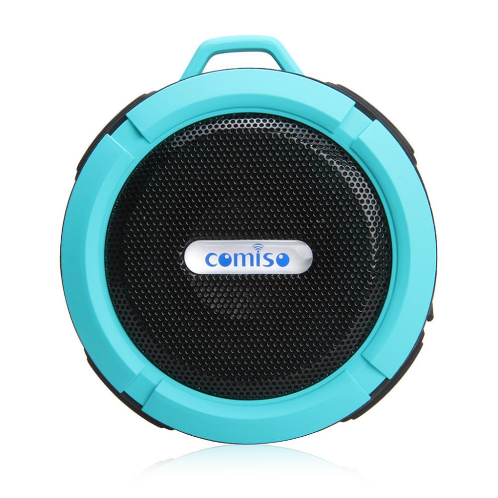 Comiso C6 Bluetooth Speaker IP64 Waterproof Level Portable Speaker Shockproof Dustproof Mini Speaker Bluetooth 3.0 Receiver(China (Mainland))