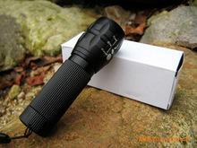 HD Aluminum light LED flashlight telescopic focusing flashlight zoom Outdoor essential 90g(China (Mainland))