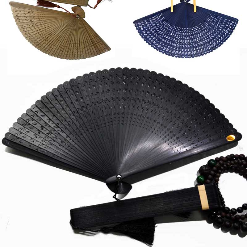 New Vintage Chinese Japanese Hollow Dragonfly Folding Fan Hand Fan Creative Gift(China (Mainland))
