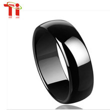 Buy Free Free Engrave 8mm width Black Tungsten ring men rings Simple style rings for $12.34 in AliExpress store