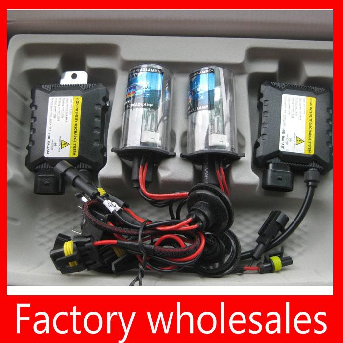 Promotion auto headlight Slim HID kit 35w dc Hid xenon Kit H1 H3 H7 H8 H10 H11 HB3 HB4 9005 9006 4300k-12000k free shipping(China (Mainland))