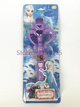 Frozenned Princess Elsa Magic Wand Toys Flash Stick Colorful Light Music Girl Wand Electronic Girl Party Gift Toys #EB(China (Mainland))