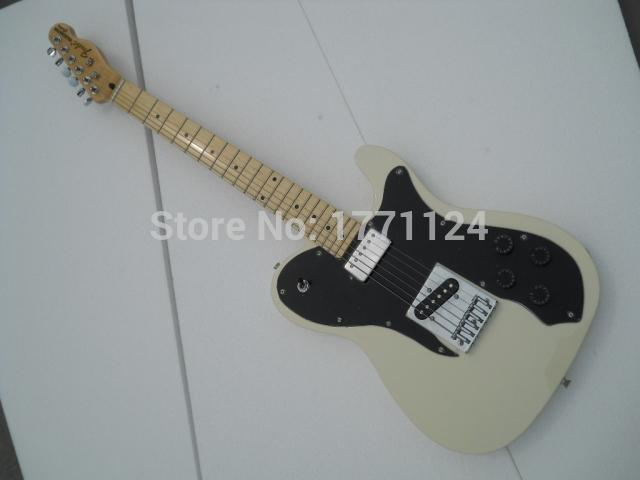 2020 Free shipping High Quality Rice white color tele guitar sell to Ameican standard telecaster electric Guitar in stock(China (Mainland))