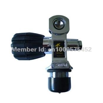 MD5000-K2 scuba valve 5000psi yoke type polished