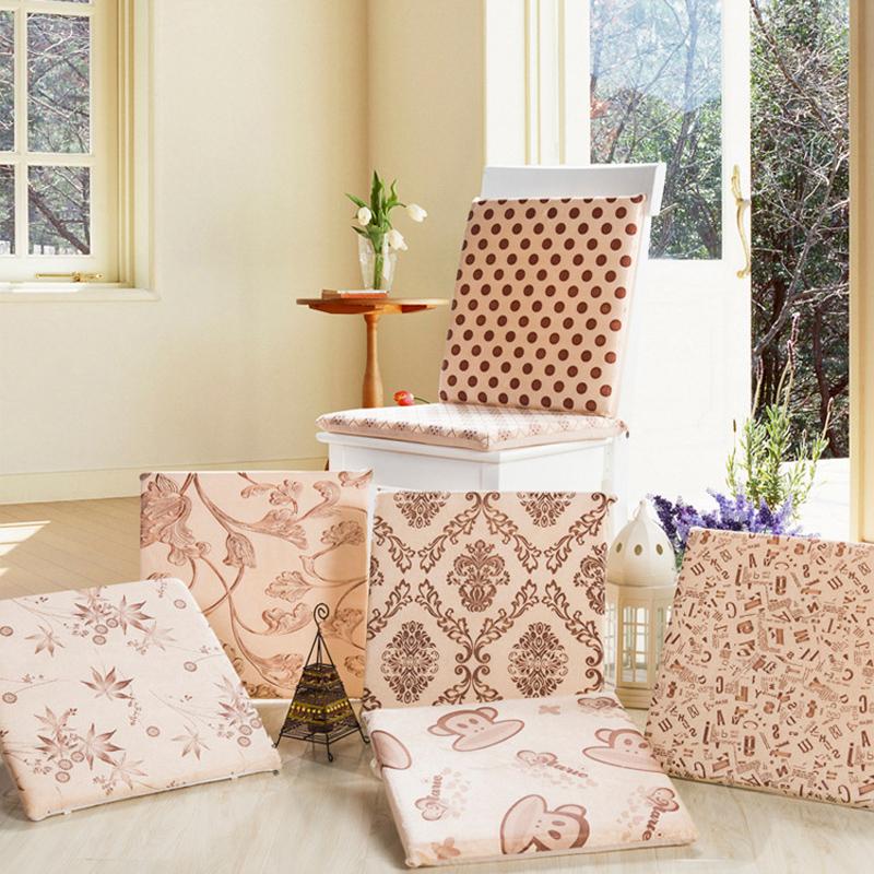 40*40cm Washable Non Slip Short Plush Seat Mat Home Cartoon Chair Cushion Pad Home Kitchen Office Student Tatami Christmas Gift(China (Mainland))