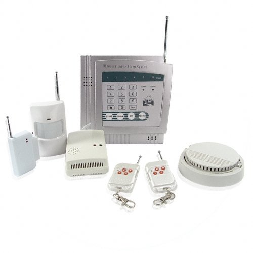 superior wireless home and office alarm system panic button on remote in sensors alarms from. Black Bedroom Furniture Sets. Home Design Ideas