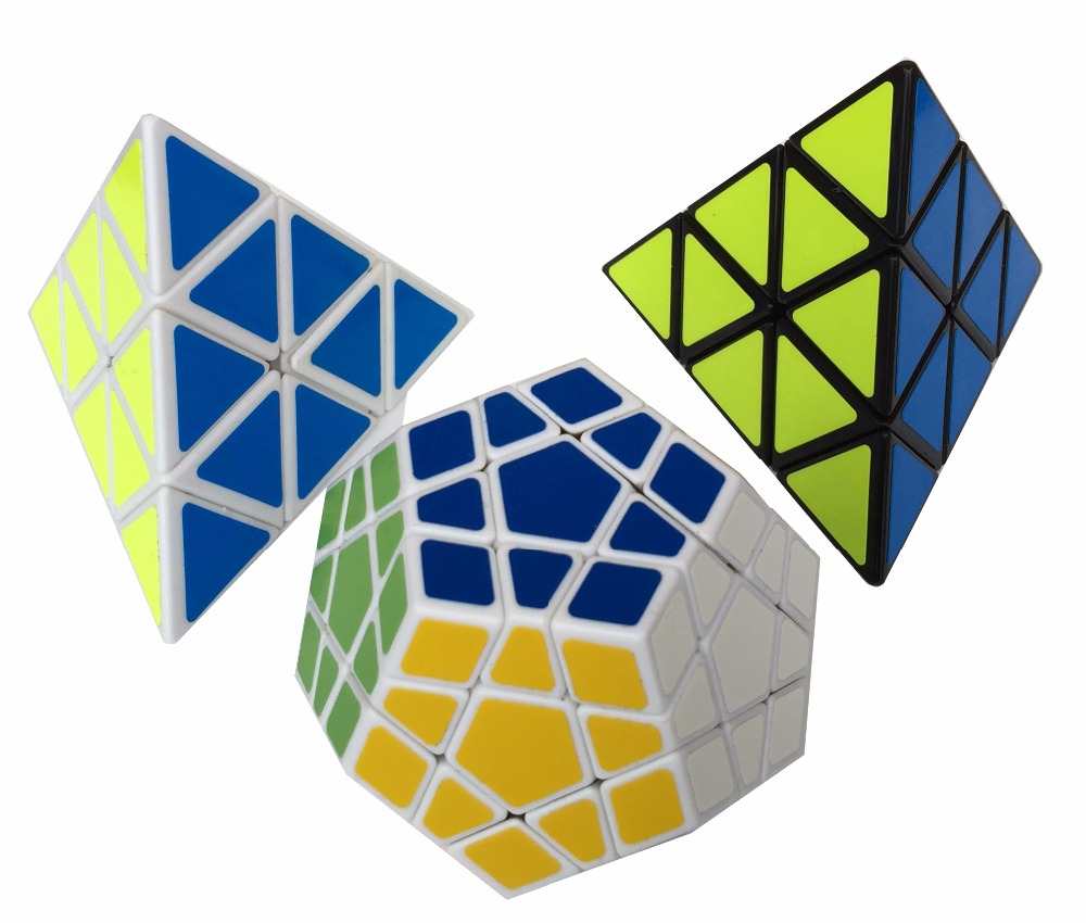 ShengShou Pyraminx Megaminx Magic Cube Sets Pack of 3(China (Mainland))